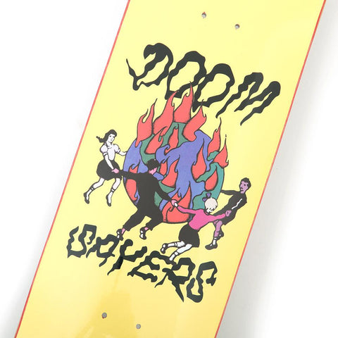 "doomsayers world on fire board (8.75"")"