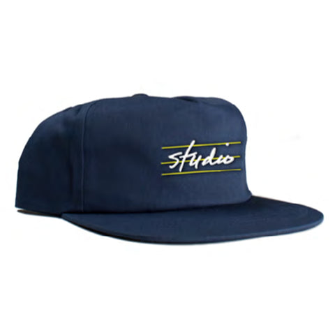 studio bars snapback cap (navy)