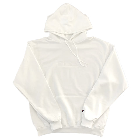 oss x champion speedway embroidered hoodie (white)