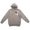 studio tiger hoodie (heather grey)