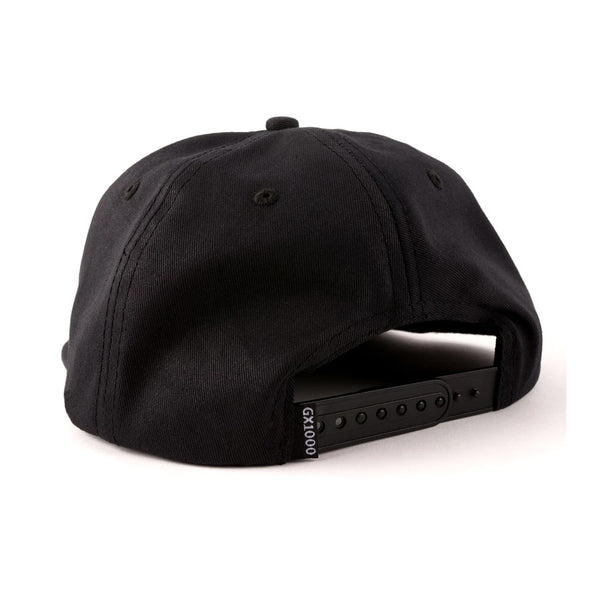 gx1000 panther 5 panel cap (black)