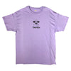 taped take out tee (violet)