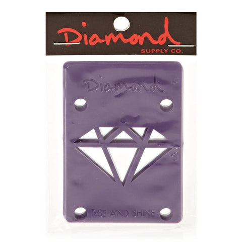 "diamond rise & shine risers (1/8""/purple)"