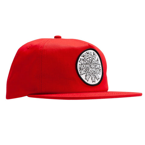 fucking awesome spiral hat (red)