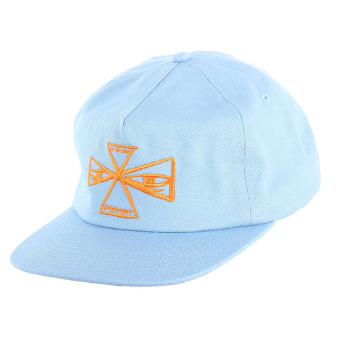 independent barbee cross strap hat (powder blue)