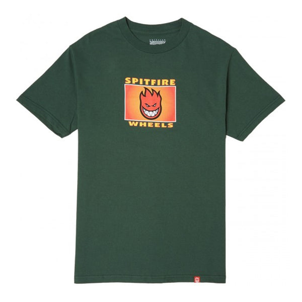 spitfire label tee (forest green)