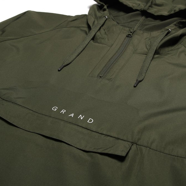 grand collection anorak (olive)