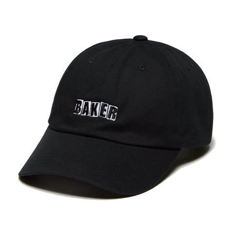 baker brand logo unstructured cap (black)