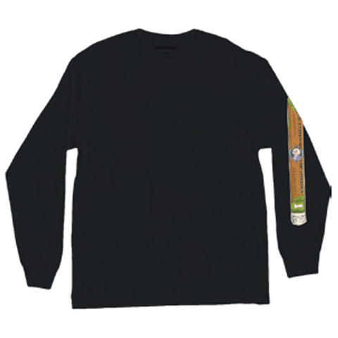fucking awesome blunt long sleeve tee (black)