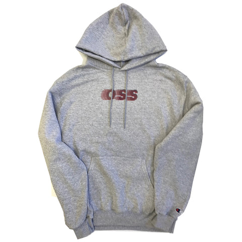 oss x champion speedway pullover hoodie (athletic grey)