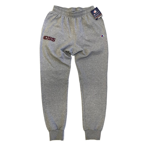 oss x champion sweatpants (athletic grey)