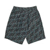 polar art swim shorts (black)