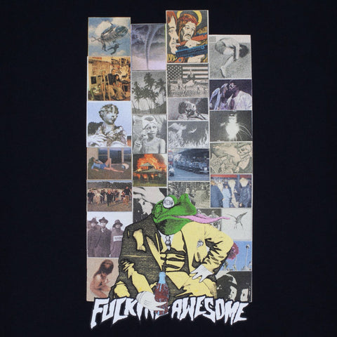 fucking awesome frogman 2 tee (black)