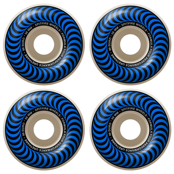 spitfire formula four classics wheels (blue/55mm)
