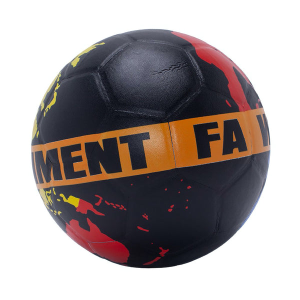 fucking awesome fa world entertainment soccel ball (black)