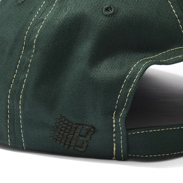 bronze bolt boy hat (green)