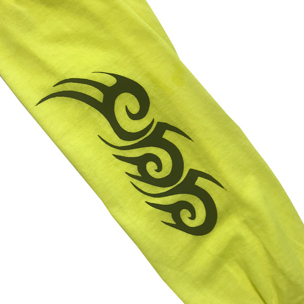 oss tribal long sleeve (safety yellow)