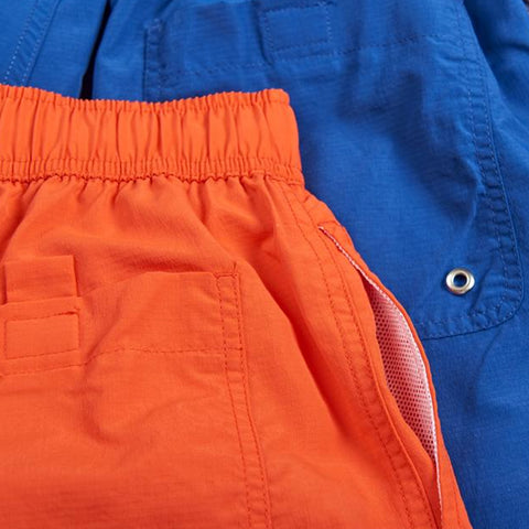 polar swim shorts (orange)