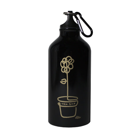 trh-bar x lebicar water bottle (black/gold)
