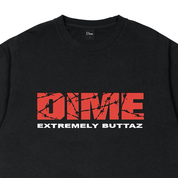 dime extremely buttaz tee (black)