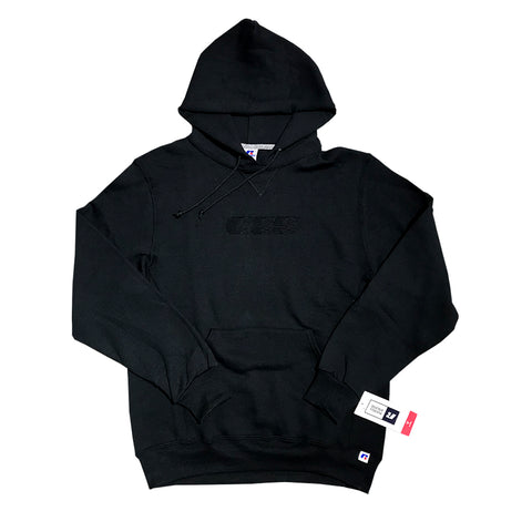 oss embroidered speedway hood (black)