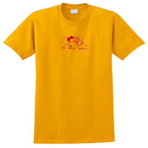 oss wolf bite tee (yellow)