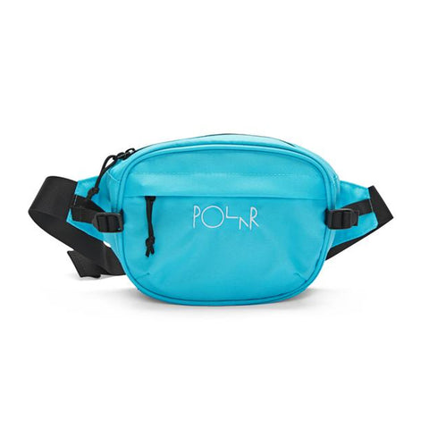 polar cordura hip bag (aqua)