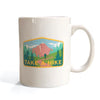 skate mental take a hike mug