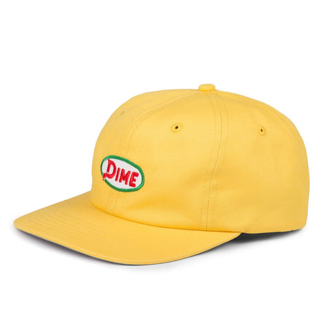dime gas hat (yellow)