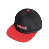 deathwish deathspray snapback cap (black/red)