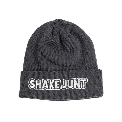 shake junt stretch logo beanie (black/grey)