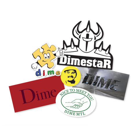 dime sticker pack 3
