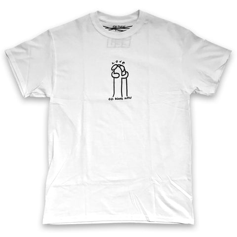 oss love tee (white)