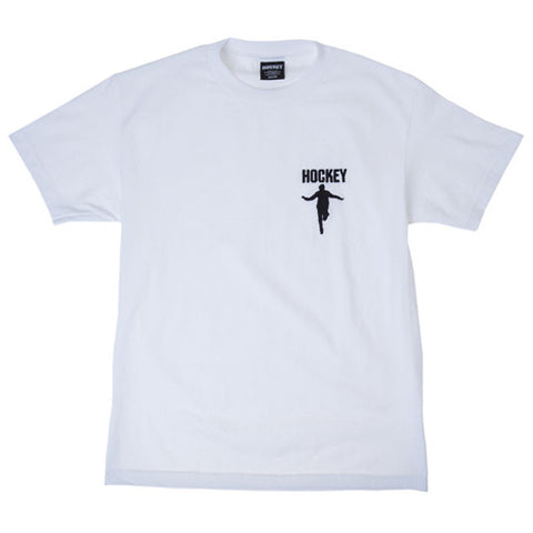hockey silhouette embroidered tee - Oss Board Supply