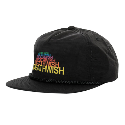 deathwish magnet box snap back cap (black)