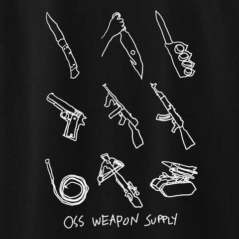 oss weapons tee (black)