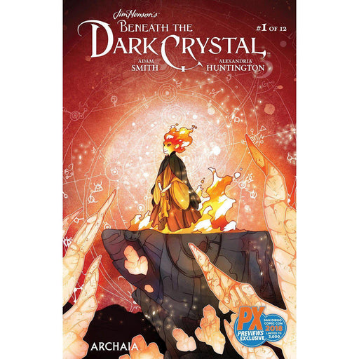 SDCC 2018 Jim Henson Beneath Dark Crystal #1 (Of 12) Exclusive Variant-Georgetown Comics