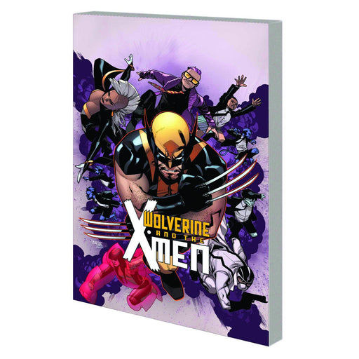 Georgetown Comics - WOLVERINE AND X-MEN TP VOL 01 TOMORROW NEVER LEARNS