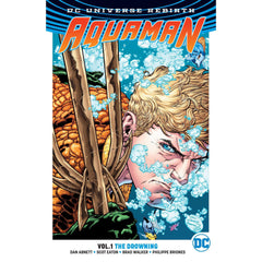 Aquaman TP Vol 01 The Drowning (Rebirth) for $ 13.99 at Georgetown Comics