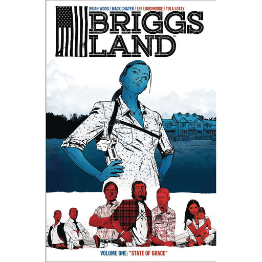 Georgetown Comics - BRIGGS LAND TP VOL 01 STATE OF GRACE