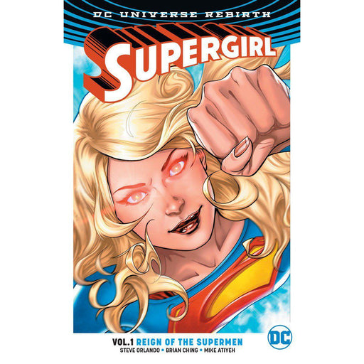 Georgetown Comics - SUPERGIRL TP VOL 01 REIGN OT CYBORG SUPERMEN