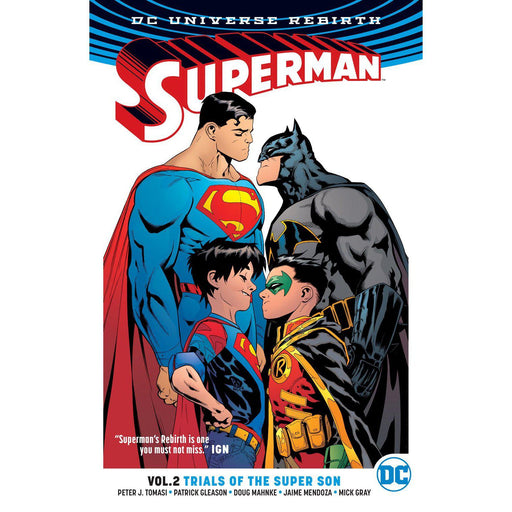 Superman TP Vol 02 Trials Of The Super Son (Rebirth)-Georgetown Comics