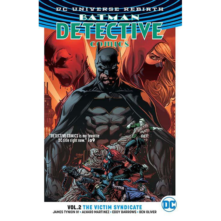 Batman Detective TP Vol 02 Victim Syndicate (Rebirth)-Georgetown Comics