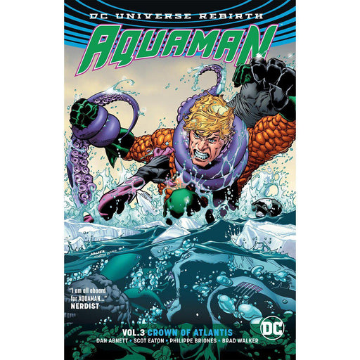 Georgetown Comics - AQUAMAN TP VOL 03 CROWN OF ATLANTIS