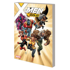 X-Men Gold TP Vol 01 Back To Basics - MARVEL COMICS
