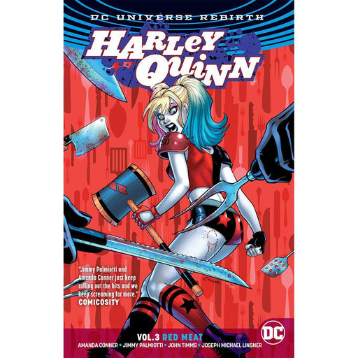 Harley Quinn TP Vol 03 Red Meat (Rebirth)-Georgetown Comics