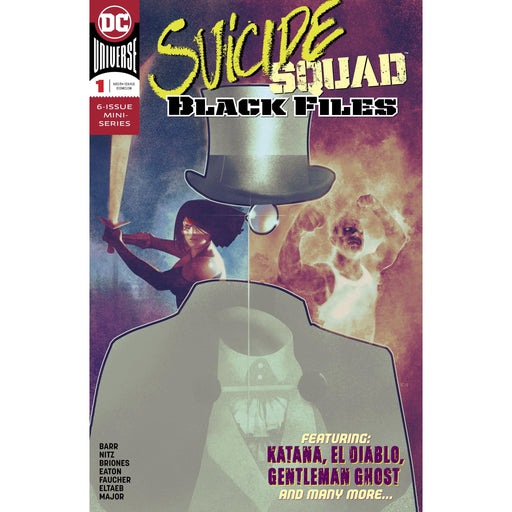 Suicide Squad Black Files #1 (Of 6)-Georgetown Comics