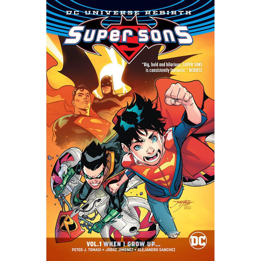 Super Sons TP Vol 01 When I Grow Up (Rebirth)-Georgetown Comics