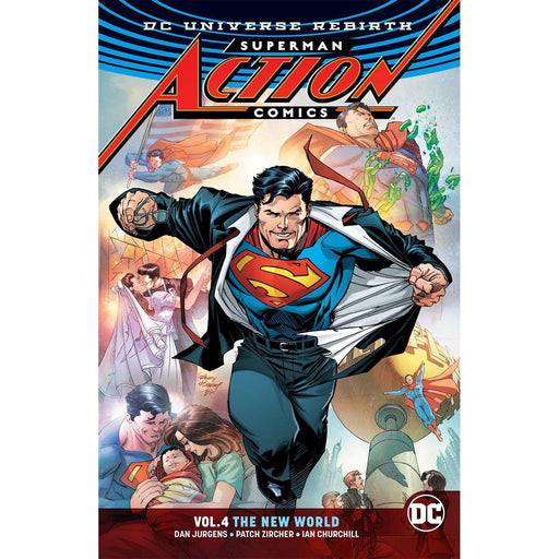 Superman Action Comics TP Vol 04 The New World (Rebirth)-Georgetown Comics
