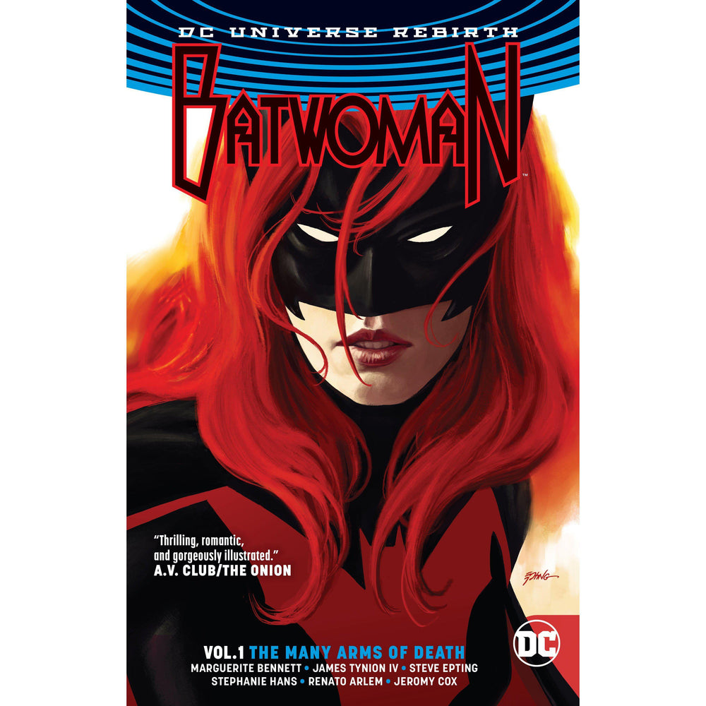 Batwoman TP Vol 01 The Many Arms Of Death (Rebirth)-Georgetown Comics